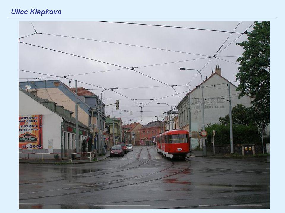 Ulice Klapkova