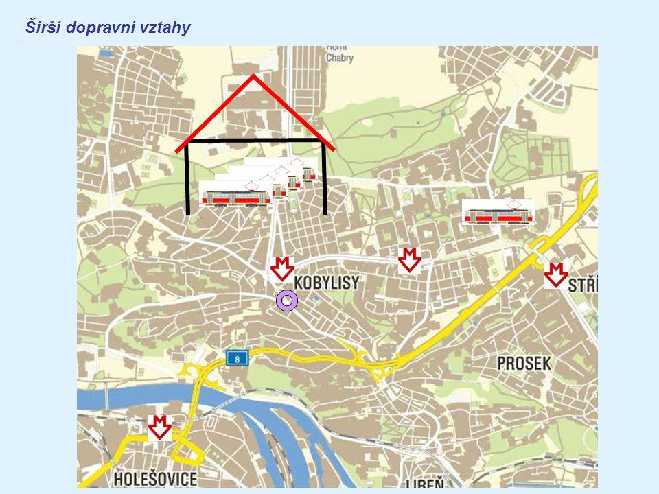Využití území stanice Policie České republiky hotely (Libuše, Troja) restaurace (Vlachovka) kasino banka, elektroprodejna, cukrárna obytné domy