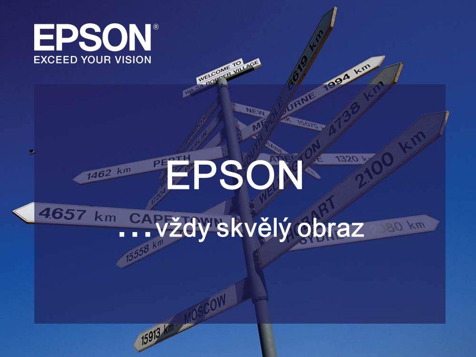 EPSON … vždy skvělý obraz