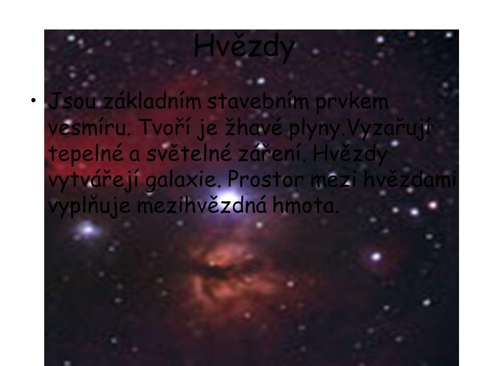 Hvězdy Jsou základním stavebním prvkem vesmíru.