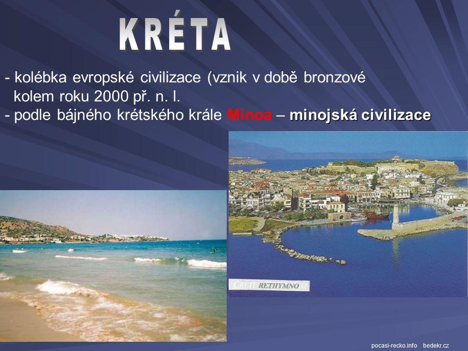 mapyevropy.cz - největší řecký ostrov - pátý největší ostrov ve Středozemním moři - leží v egejské oblasti (mezi Řeckem a Malou Asii kreta.navajo.cz