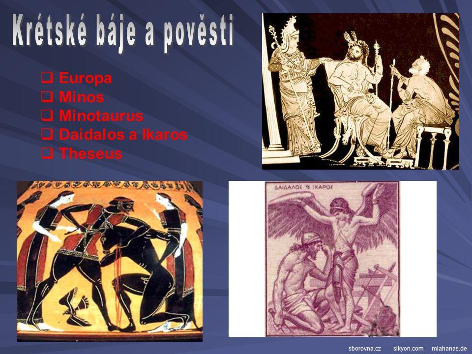 - ostrov opředený mýty a milovaný samotnými řeckými bohy Podle pověsti se na ostrově Kréta narodil v tajemné jeskyni s jezírkem ve svahu hory Dikti vl
