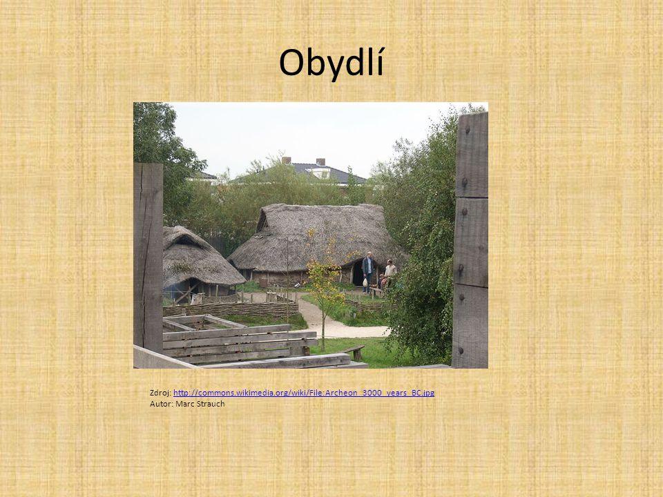 Obydlí Zdroj: http://commons.wikimedia.org/wiki/File:Archeon_3000_years_BC.jpghttp://commons.wikimedia.org/wiki/File:Archeon_3000_years_BC.jpg Autor: