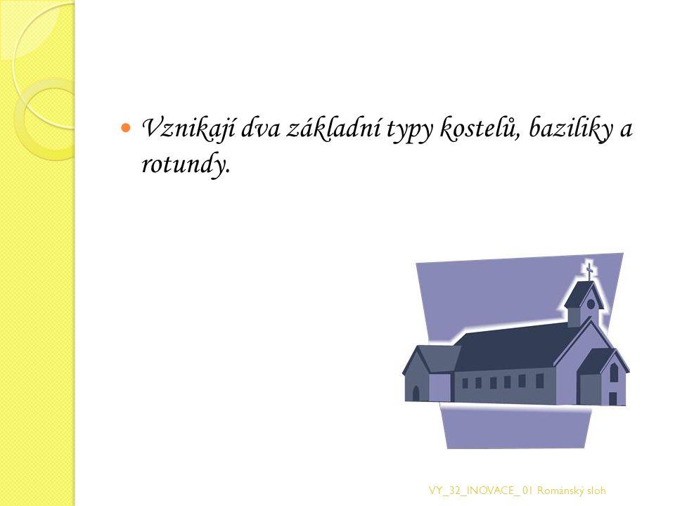 Bazilika byla obdélníková stavba, jejíž vnitřní prostor byl podélně rozčleněn sloupořadím do tří i více lodí.