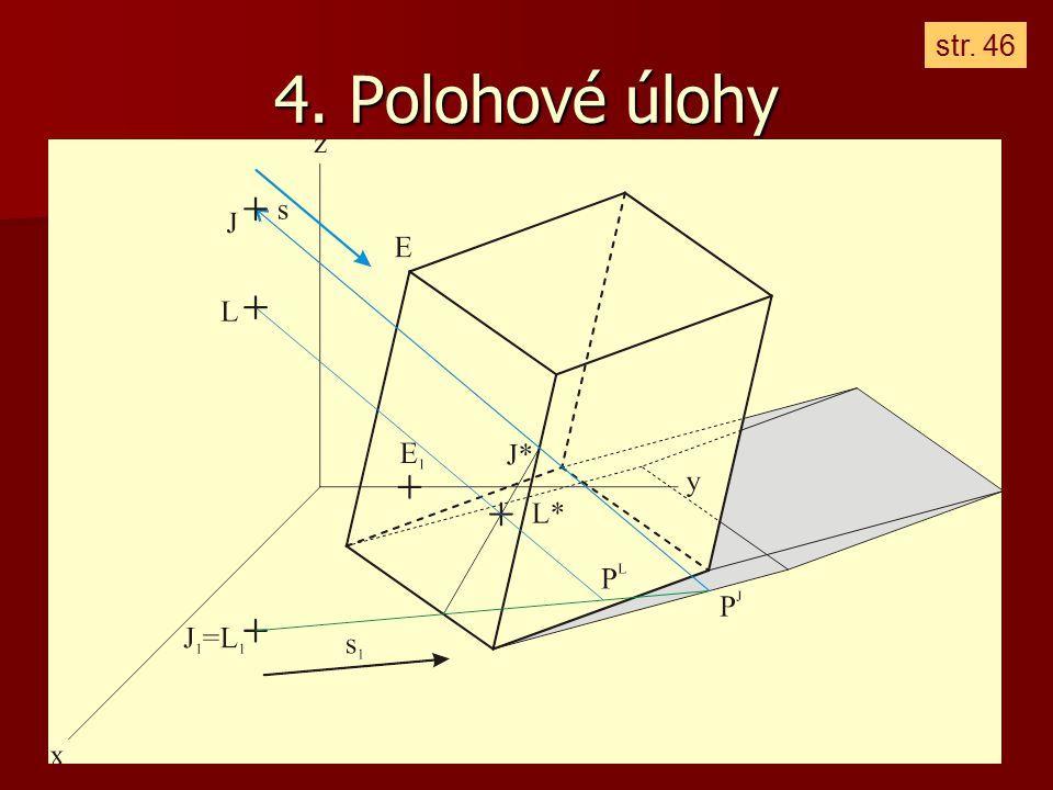 4. Polohové úlohy str. 46