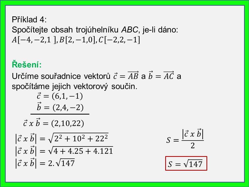 3. Výpočet objemu rovnoběžnostěnu