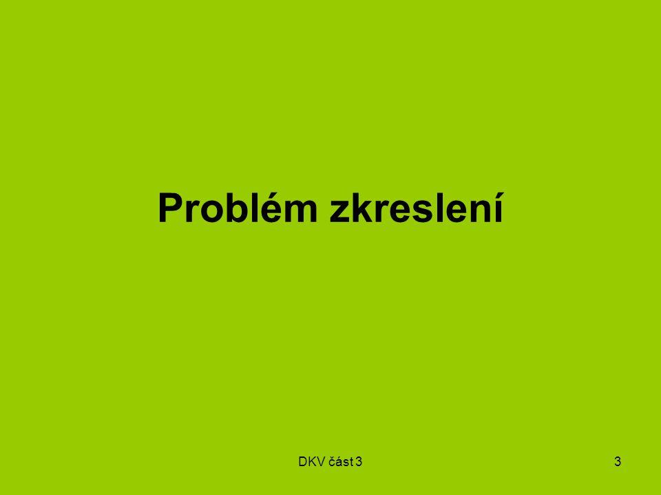 DKV část 33 Problém zkreslení