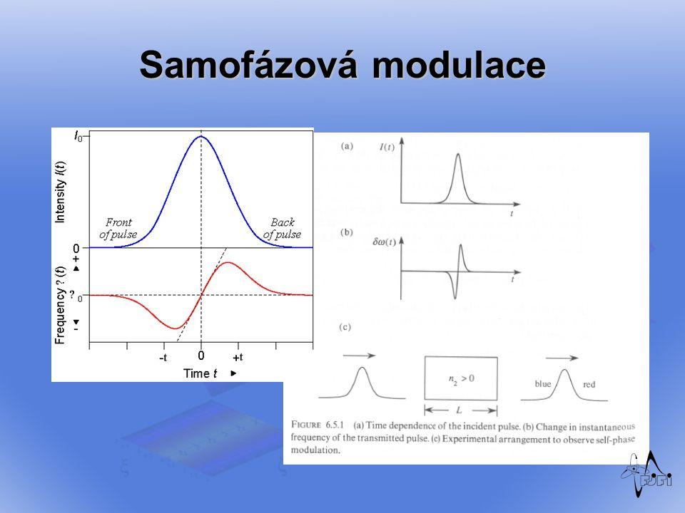 Samofázová modulace