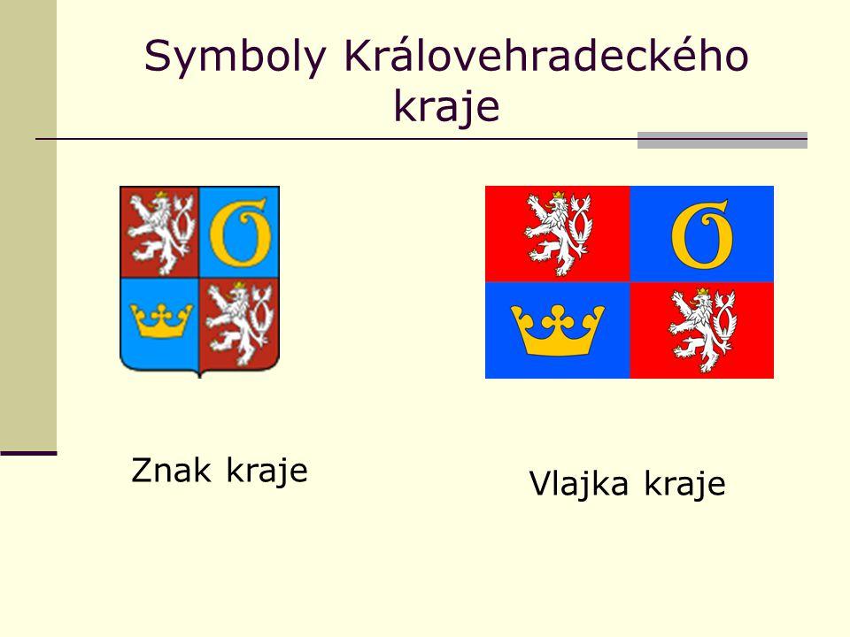 Symboly Královehradeckého kraje Znak kraje Vlajka kraje