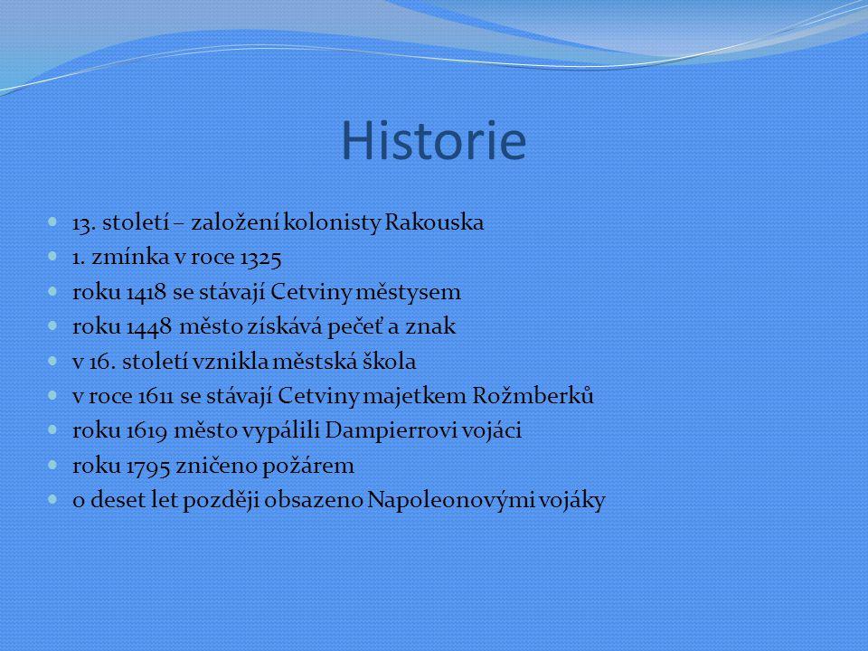 Historie 13. století – založení kolonisty Rakouska 1.