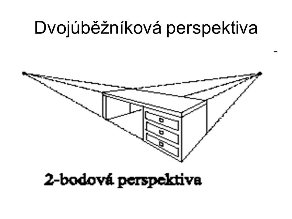 Dvojúběžníková perspektiva