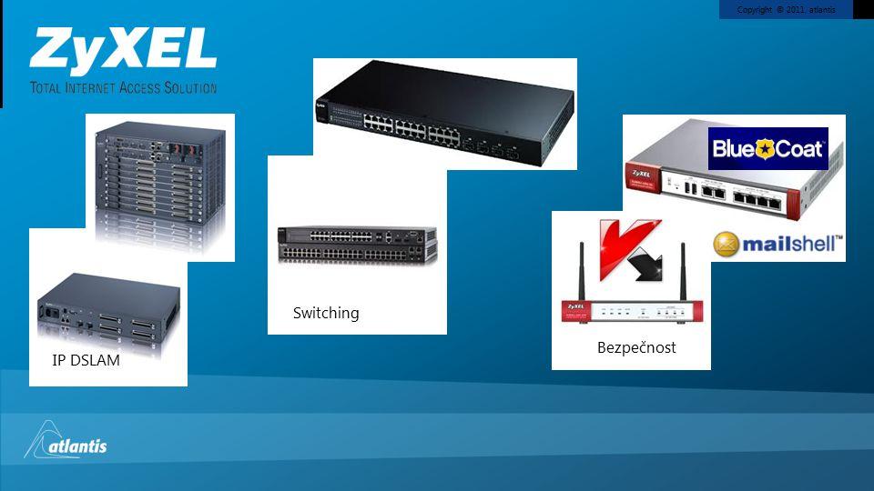 Bezpečnost IP DSLAM Switching