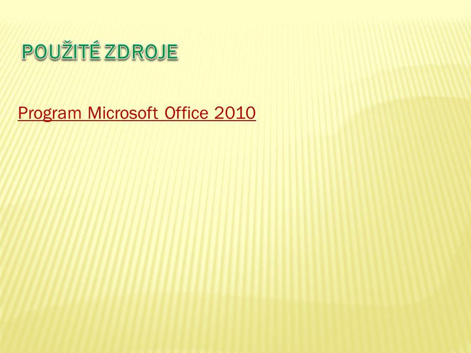 Program Microsoft Office 2010
