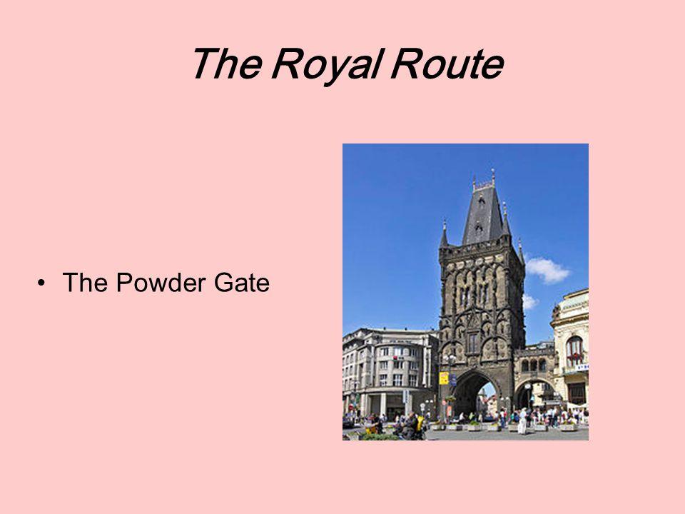 The Royal Route The Prague Castle: Famous halls –The Vladislav Hall – The Spanish Hall
