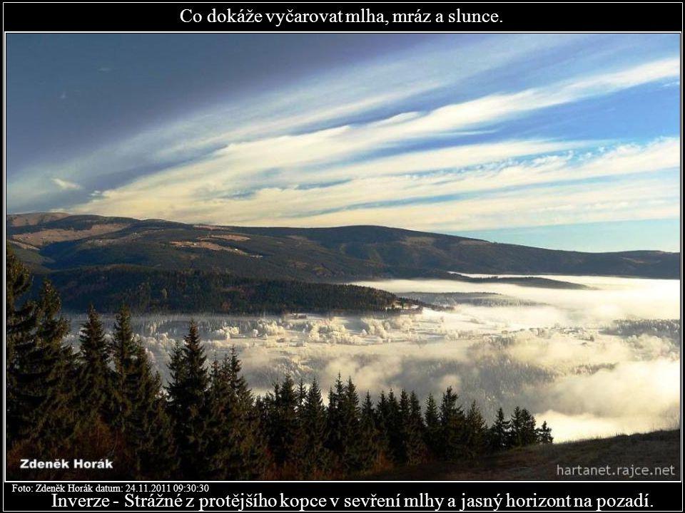 Labská Foto: Zdeněk Horák datum: 24.11.2011 08:26:49