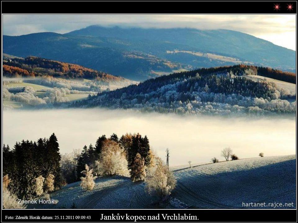 Tetřeví bouda Foto: Zdeněk Horák datum: 23.11.2011 15:41:49
