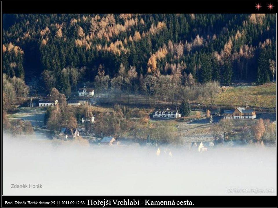 Foto: Zdeněk Horák datum: 24.11.2011 09:40:26 Strážné - zadní Herlíkovice
