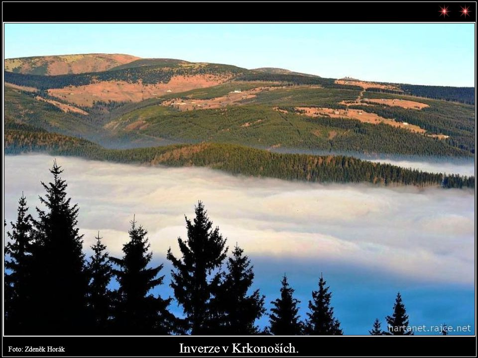 Hořejší Vrchlabí - Kamenná cesta. Foto: Zdeněk Horák datum: 25.11.2011 09:42:33