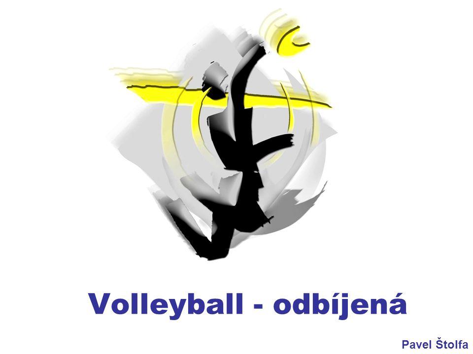 Volleyball - odbíjená Pavel Štolfa