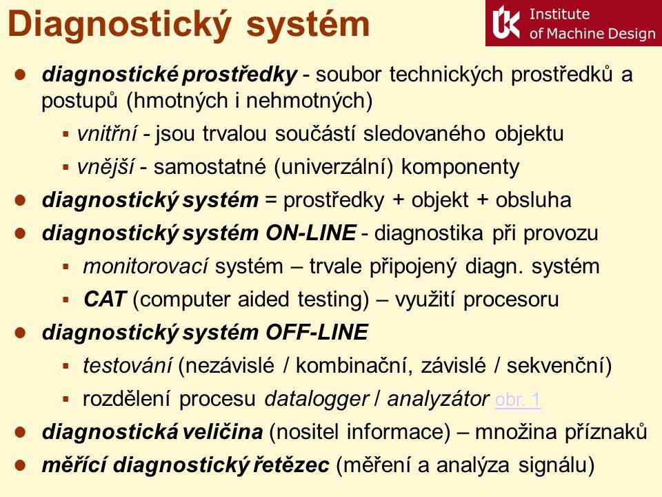 Technická diagnostika dia-gnozis - skrze poznání Zkoumá technické objekty za účelem posouzení jejich technického stavu, tj.