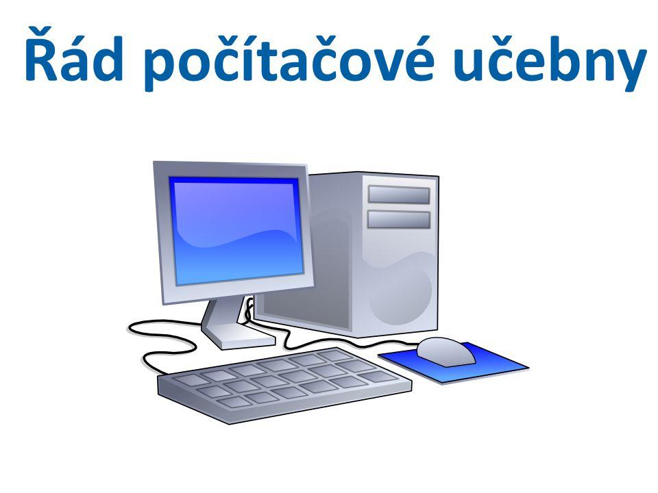 Řád počítačové učebny