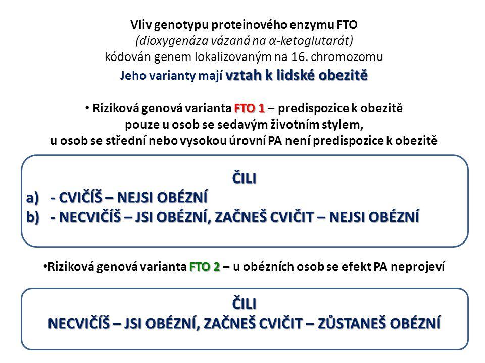 PATOFYZIOLOGIE ZÁTĚŽE Trénovanost i trénovatelnost Genetická složka se podílí např.