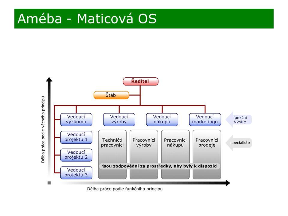 Améba - Maticová OS