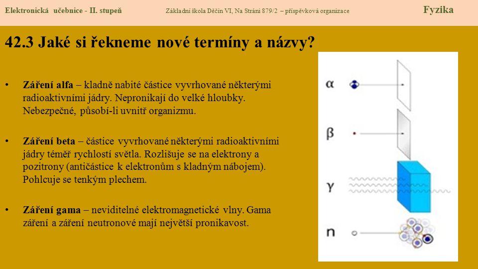 42.4 Co si řekneme nového.Elektronická učebnice - II.