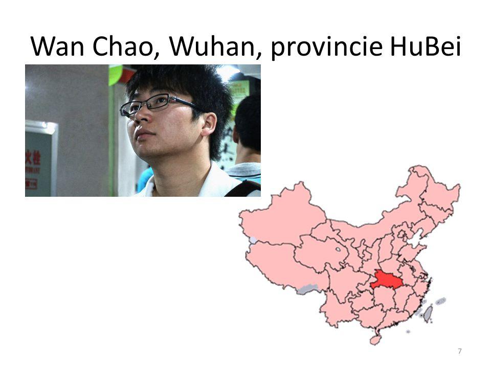Wan Chao, Wuhan, provincie HuBei 7