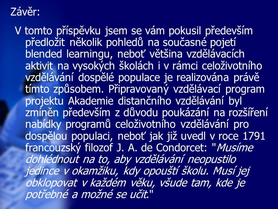 Univerzita Palackého v Olomouci Centrum distančního vzdělávání Mgr.