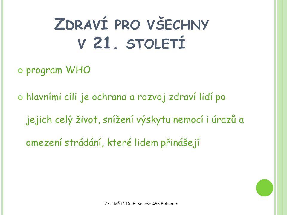 Z DRAVÍ PRO VŠECHNY V 21.