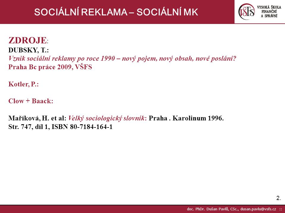 73.doc. PhDr.