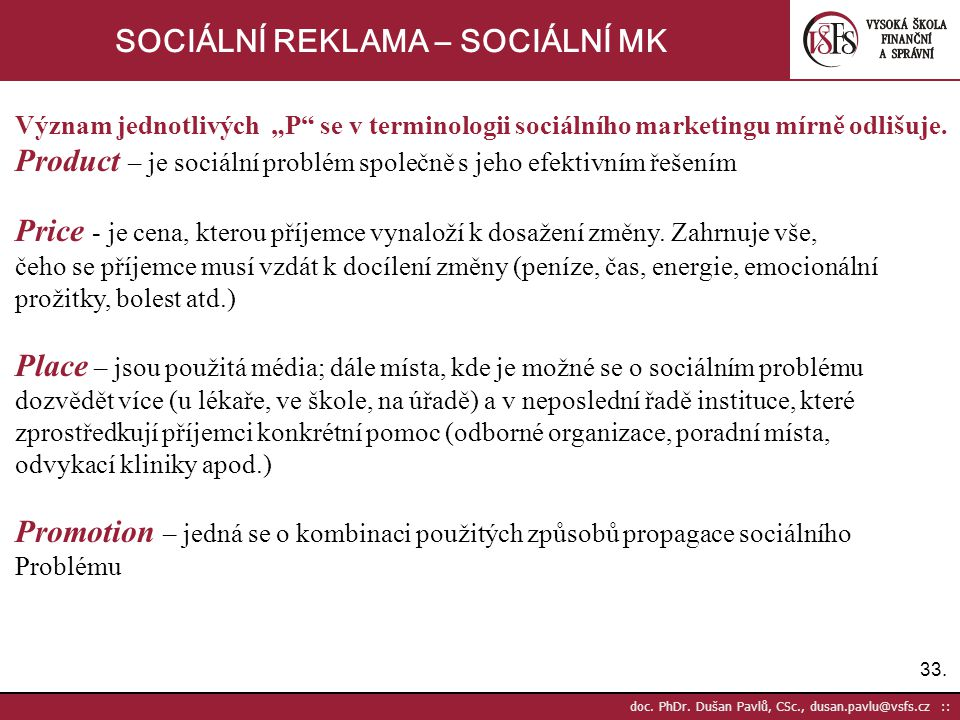 33.doc. PhDr.