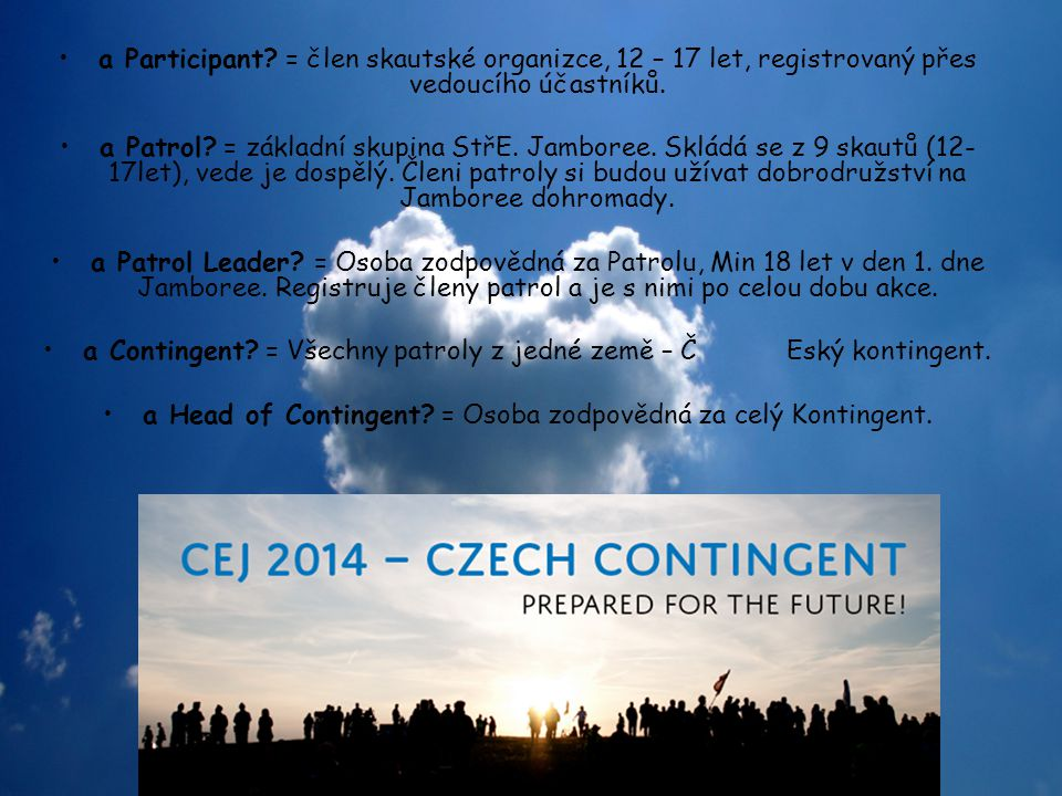 the IST (International Service Team).