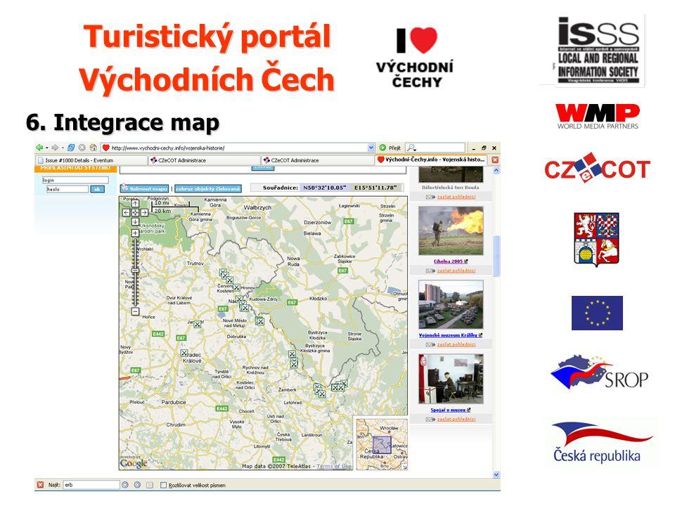 © 2007 Vít Pechanec 6. Integrace map Turistický portál Východních Čech