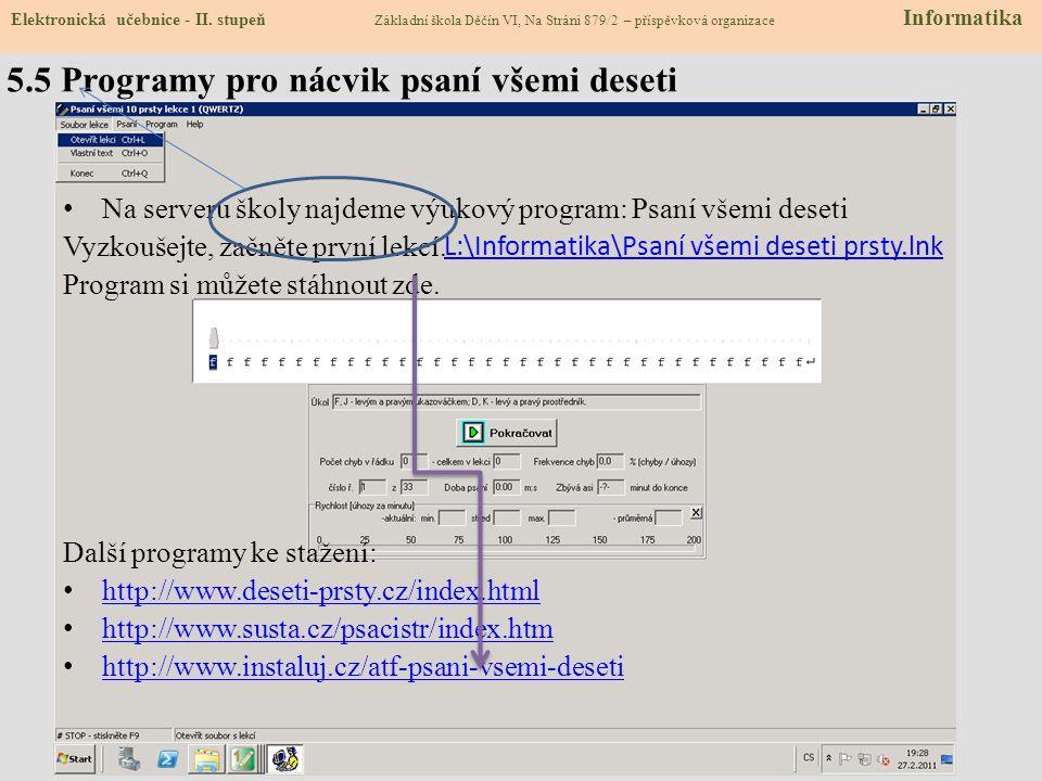 Zav je výukový program používaný v celé Evropě pro výuku psaní všemi deseti prsty. Sharware  87 cvičení k vyzkoušení a k instalaci zdarma Oficiální i