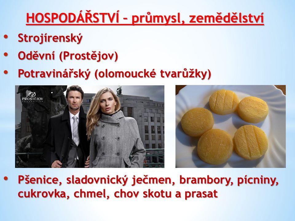 OKRESY – mapka 5 okresů Olomouc Olomouc Prostějov Prostějov Přerov Přerov Šumperk Šumperk Jeseník Jeseník