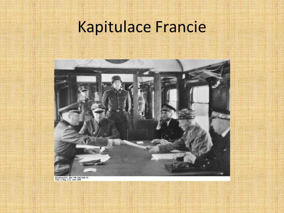 Kapitulace Francie