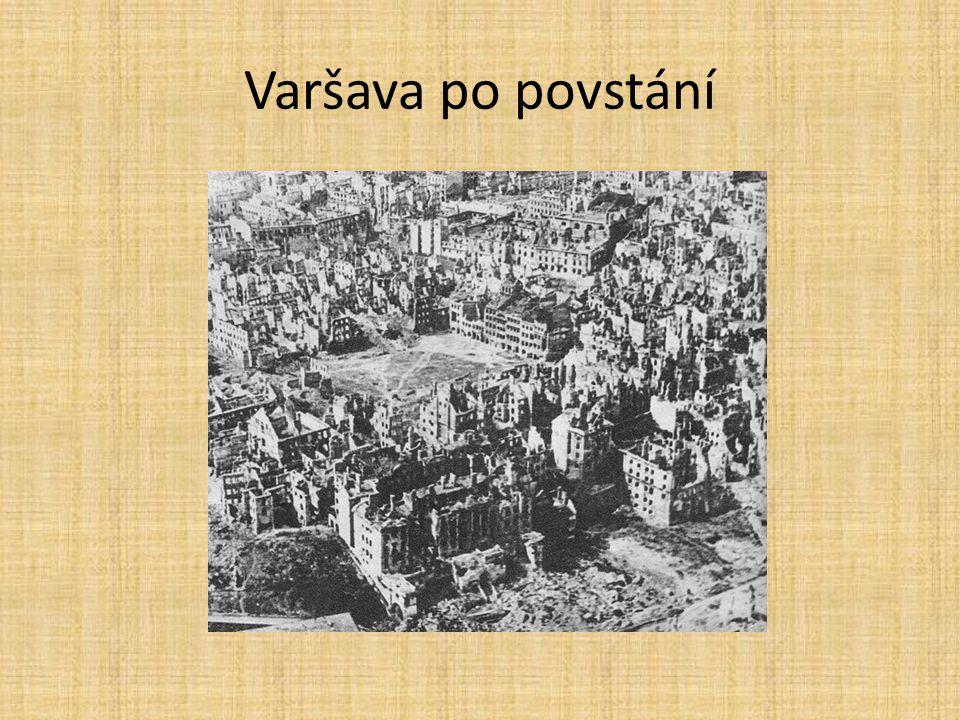 Varšava po povstání