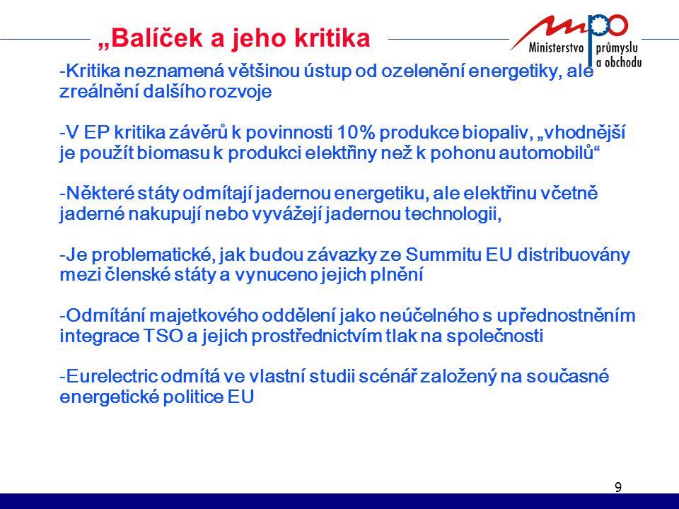 10 Děkuji za pozornost Ing. Josef Votruba MPO Tel.: 224853247 votruba@mpo.cz