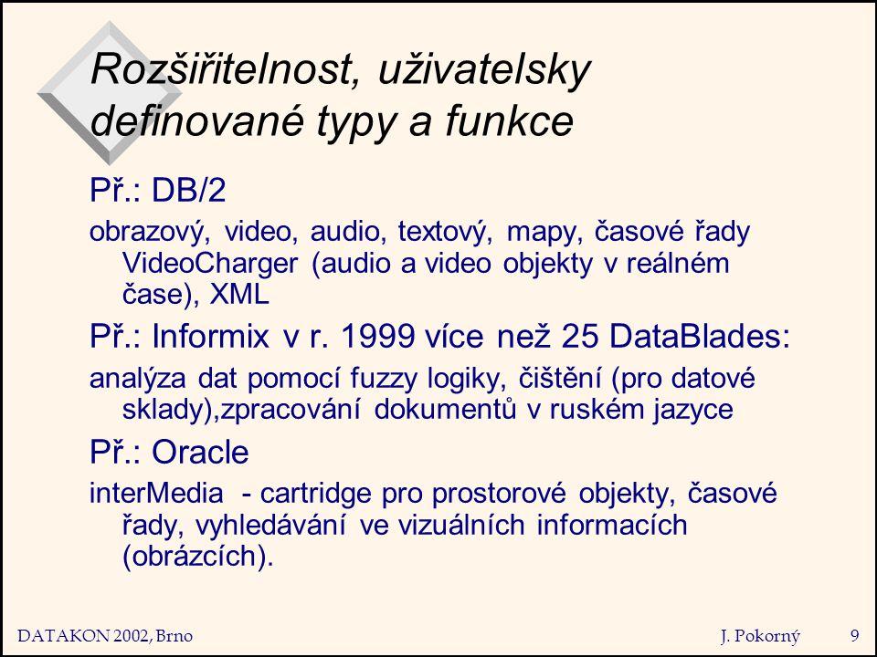 DATAKON 2002, Brno J.
