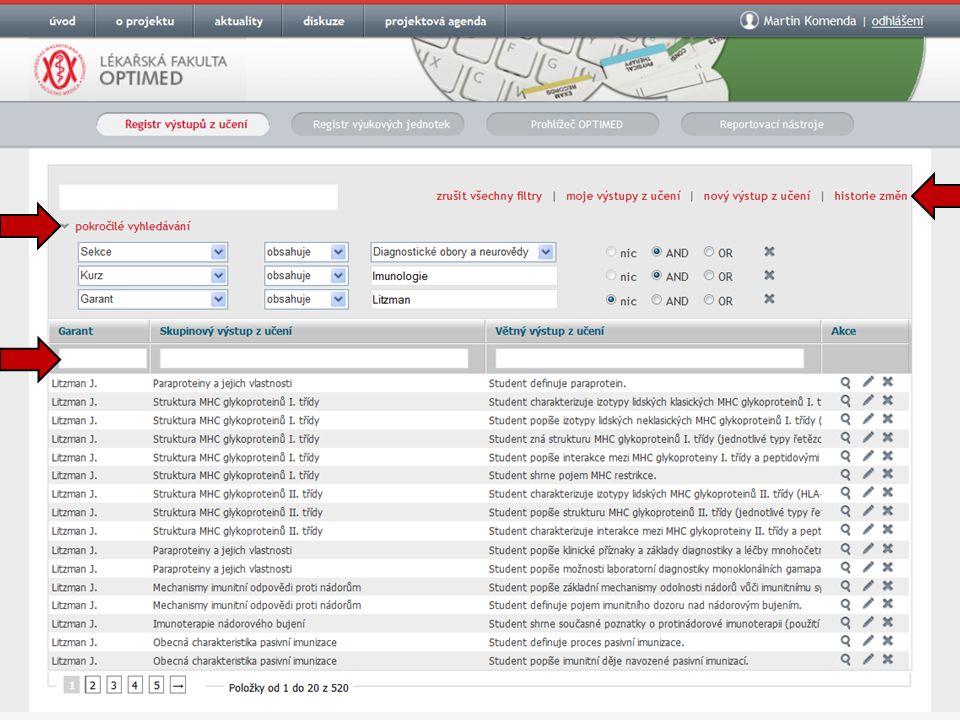 Autentizace Shibboleth OPTIMED - optimalizovaná výuka všeobecného lékařství: http://opti.med.muni.cz
