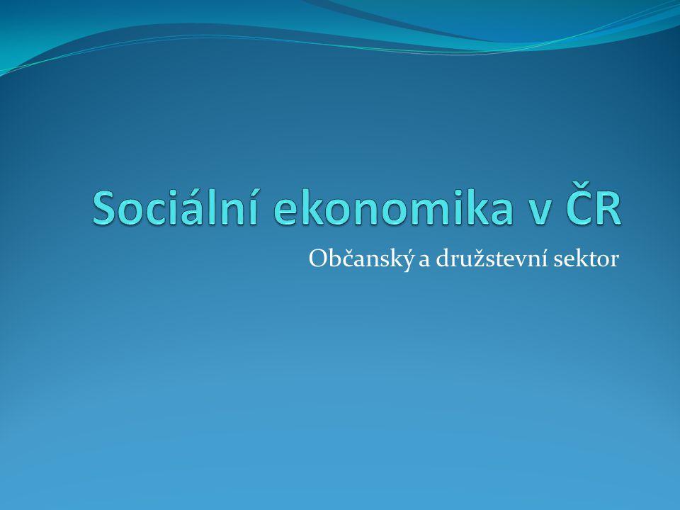Občanský a družstevní sektor