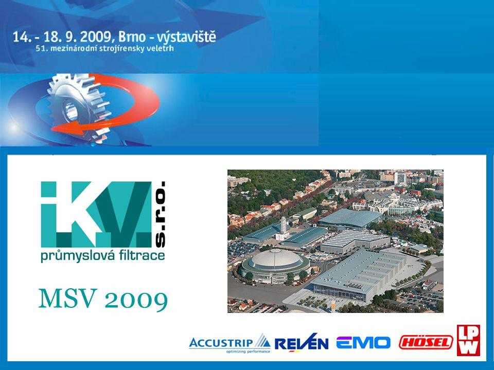 2 www.ikvbrno.cz Veletržní stánek firmy I.K.V.