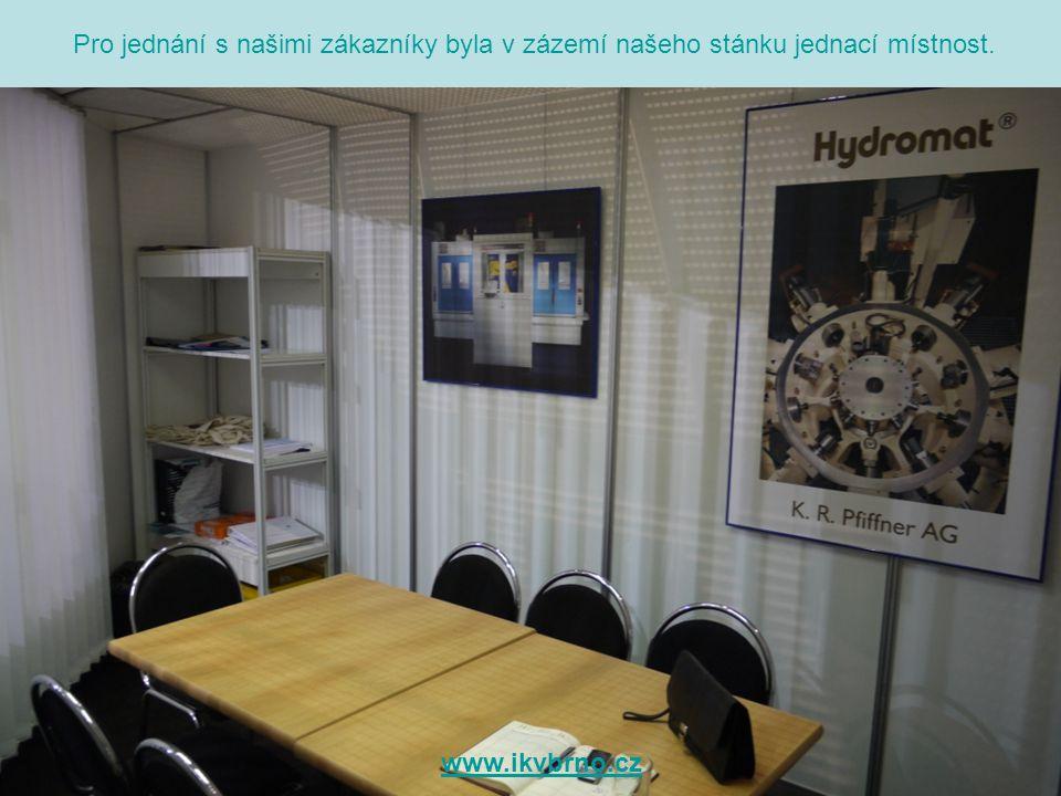 Těšíme se na Vaši návštěvu naší expozice na Mezinárodním Strojírenském veletrhu 2010.
