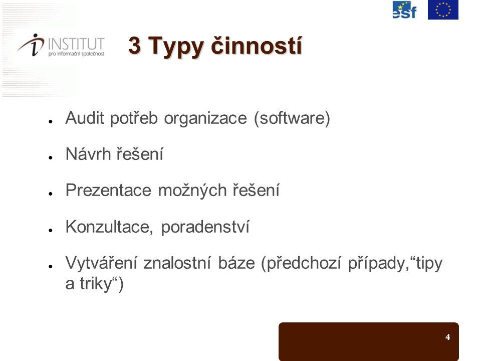 5 Umístění projektu Hospodářská komora ČR