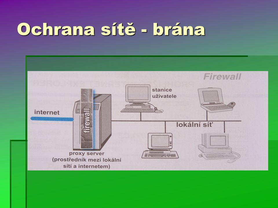 Ochrana sítě - brána