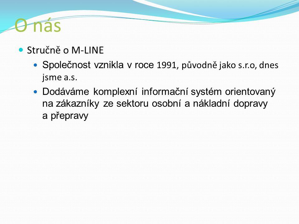 O nás Stručně o M-LINE Společnost vznikla v roce 1991, původně jako s.r.o, dnes jsme a.s.