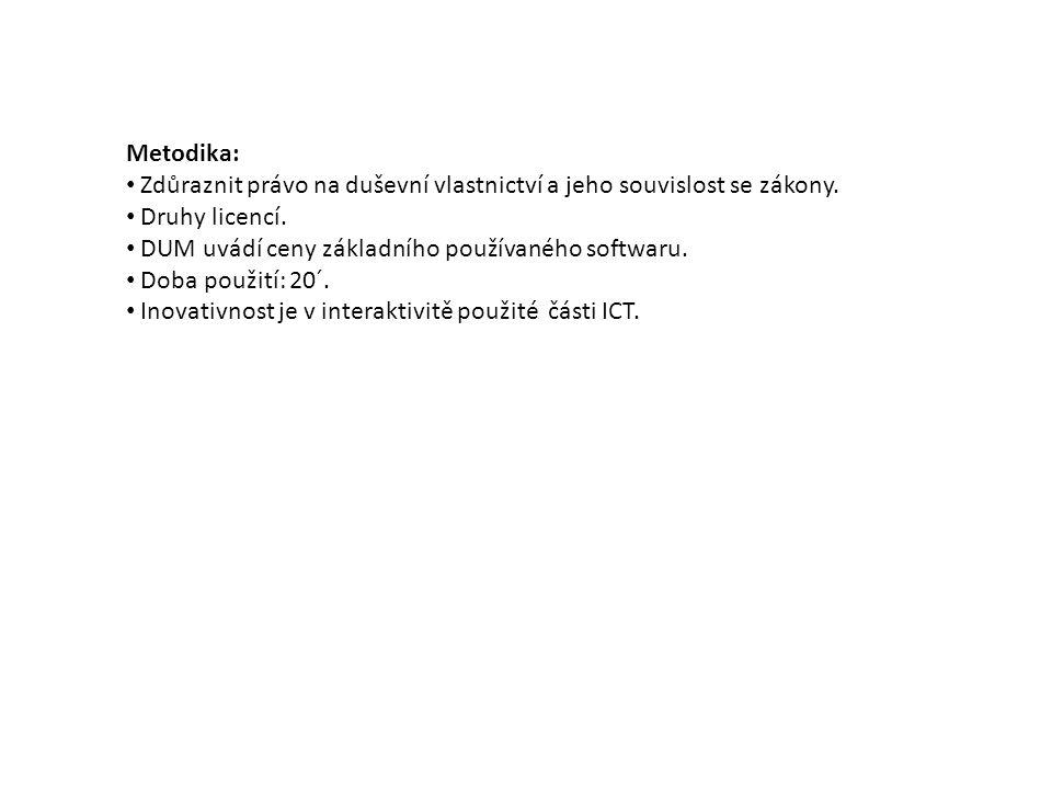 Programy (software) používané jinak, než podle určení (povolení) majitele (tvůrce), je až trestné.