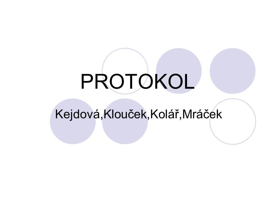 PROTOKOL Kejdová,Klouček,Kolář,Mráček